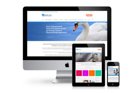 New George Square website - George Square Financial Management