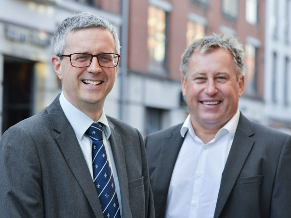 Simon Hill and George Goward of George Square Financial Management Ltd